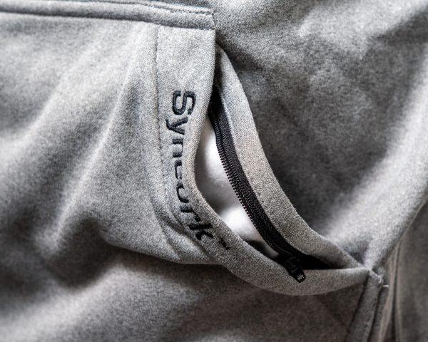 Elliott Rods Gray Sweatshirt Pocket