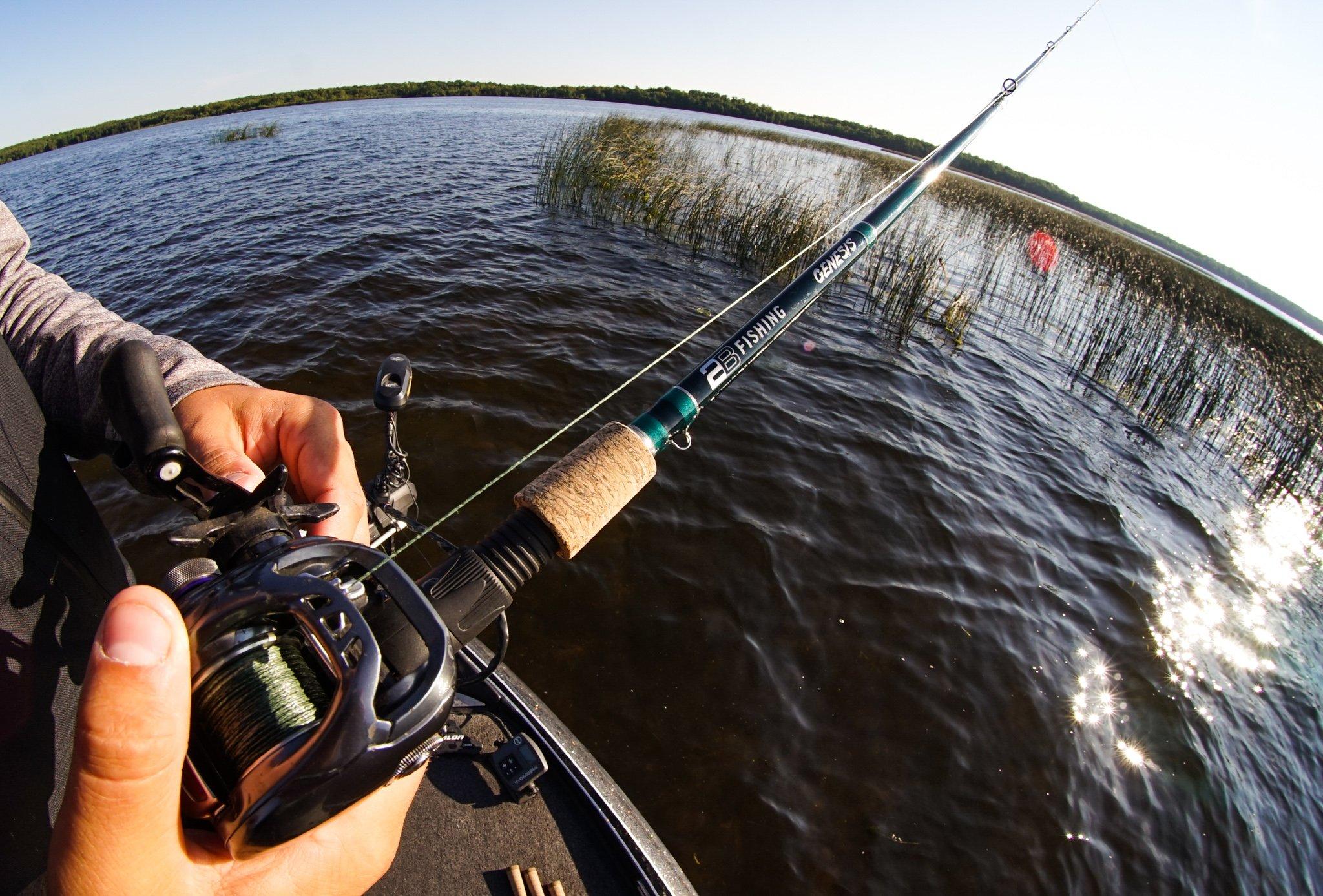 2b fishing genesis baitcast rod